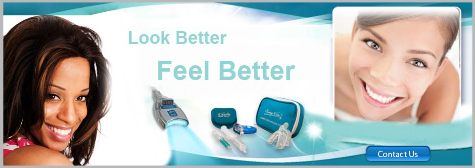 Whiten My Smile Now teeth whitening powered by Beaming White